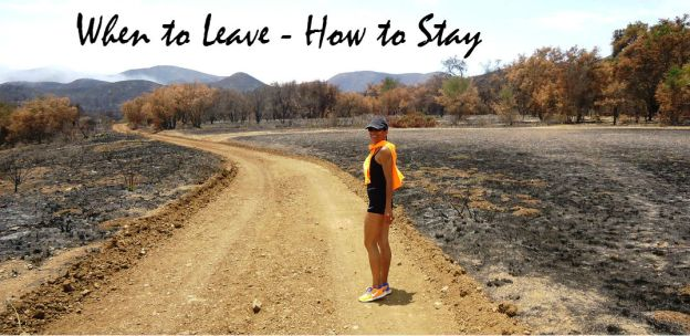 When to Leave-How to Stay title