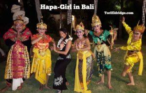 Hapa girl in bali