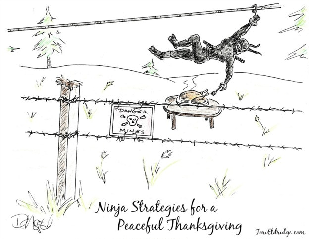 Ninja strategies peaceful-thanksgiving