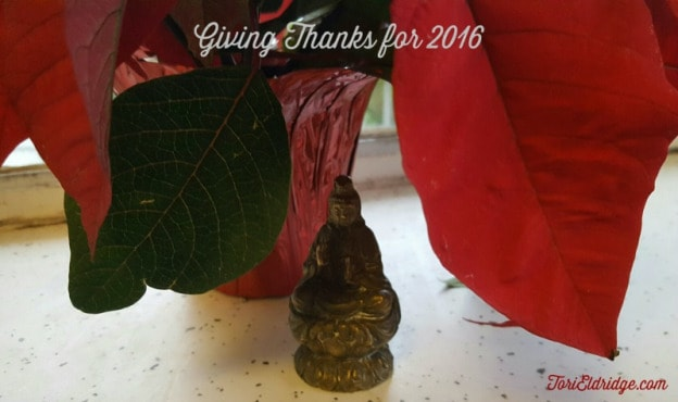 Giving thanks for 2016