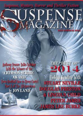 Tori Eldride Suspense Magazine December 2014 Cover Web