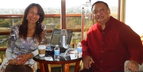 Tori and rinpoche
